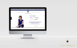 sally thibault mockup website