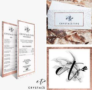 Crystal Tips - Brand Identity