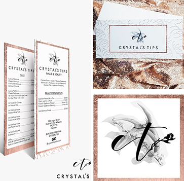Crystal Tips - Brand Identity